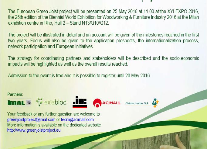 Newsletter Green Joist